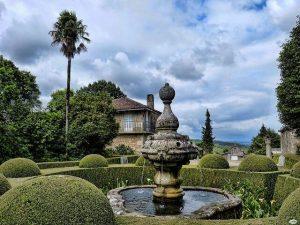 pazo de oca jardines fuente