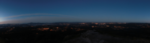 pico sacro mirador panorámica de santiago de compostela
