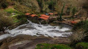 parque natural río barosa cascadas pontevedra